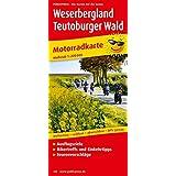 Motorradkarte Weserbergland - Teutoburger Wald: Mit Ausflugszielen, Einkehr- & Freizeittipps und Tourenvorschlägen, wetterfest, reissfest, abwischbar, GPS-genau. 1:200000