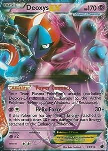 Pokemon - Deoxys-EX (53/116) - Plasma Freeze - Holo