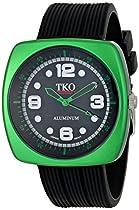 TKO ORLOGI Unisex TK567-GB Allie Green Aluminum Case Watch