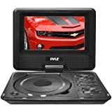 Pyle-Home 7-Inch Portable TFT/LCD Monitor with Built-In DVD Player MP3/MP4/USB SD Card Slot PDH7