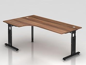 Angolo tavolo supporto C 200x 120cm, 90°, prugna/argento