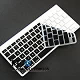 IVEA Silicone skin cover protector for Apple Wireless Bluetooth keyboard – Black