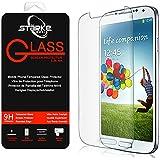 Film vitre de protection écran Samsung Galaxy S4 - Mini en verre trempé 0,26 mm haute transparence et ultra résistant (incassable, inrayable 9H) et Ultra Slim (0,26mm) avec bords arrondis - pour une protection et un confort d'utilisation optimal de votre telephone (Samsung Galaxy S4 - Mini)