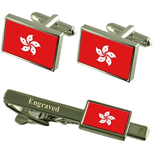 rae-de-hong-kong-bandera-gemelos-grabados-clip-de-corbata-matching-box-set