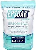 Epsoak Epsom Salt 19lbs Magnesium Sulfate USP