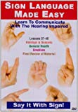 echange, troc Sign Language Series 37-40 [Import anglais]