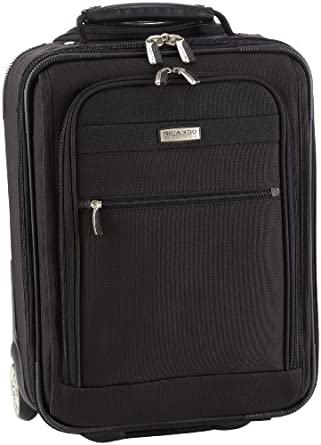 Ricardo Beverly Hills Luggage Huntington Lite 3.0 17 inches Universal Wheelaboard Bag, Black, 13 x 16 x 7
