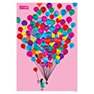 Balloons Print by Lesley Barnes||EVAEX