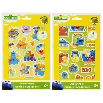 Sesame Street Sticker Pack