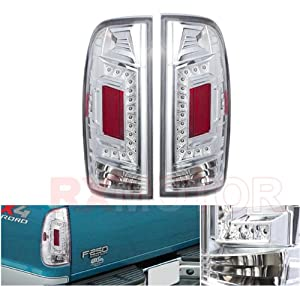 tail lights brake lamps 1997 2003 ford f1501999 2007 f250 styleside. Black Bedroom Furniture Sets. Home Design Ideas