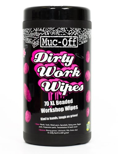 Muc-Off Dirty Work Wipes x 70 XL  Work shop wipes