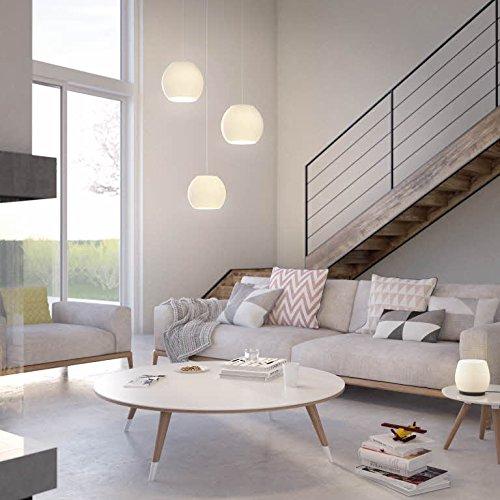 Philips-Vienne-Lampadario-Moderno-LED-Design-Cucina-Camera-da-Letto-Salotto-in-Vetro-1-Lampadina-da-45-W-Inclusa