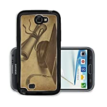 buy Liili Premium Samsung Galaxy Note 2 Aluminum Snap Case Graduation Hat And Diploma With Vintage Grunge Texture Representing Education Photo 10743744