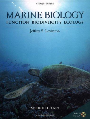 Marine Biology : Function, Biodiversity, Ecology