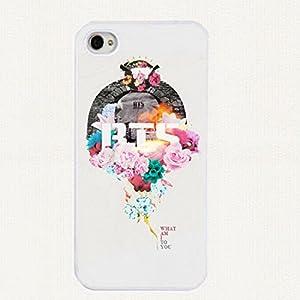 Amazon.com: MY MARKET Kpop BTS Office Logo Iphone5/5S Plastic Phone