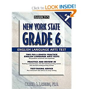 Download book Barron's New York State Grade 6 English Language Arts Test
