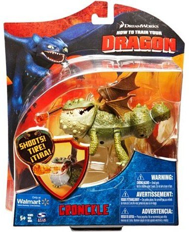 How To Train Your Dragon Movie Deluxe 7 Inch Action Figure Gronckle