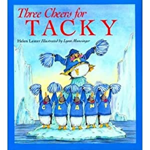 [THREE CHEERS FOR TACKY] BY Lester, Helen (Author) Houghton Mifflin Harcourt (HMH) (publisher) Paperback