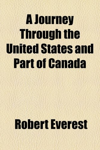 A Journey Through the United States and Part of Canada