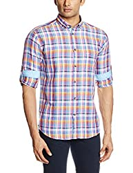 Park Avenue Men's Casual Shirt (8907117084478_PCSY00791-E5_46_Multii Color)