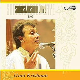 Amazon.com: Sarasijasana Jaye (Live): P.Unni Krishnan: MP3
