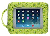 My Doodles Child Friendly Universal Cushioned Tablet Stand Compatible with 9-10 Inch Tablets Including with iPad 2/3/4, iPad Air/Air 2, Samsung Galaxy Tab 2/3/4 10.1 Inch and Note 10.1, Google Nexus 9/10 and Sony Xperia Z/Z2/Z3 Tablet - Alien