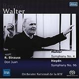 ワルター&フランス国立放送管ライヴ ~ マーラー : 交響曲第4番 他 (R.Strauss : Don Juan | Mahler : Symphony No.4 | Haydn : Symphony No.96 / Bruno Walter , Orchestre National de la RTF) [SACDシングルレイヤー]