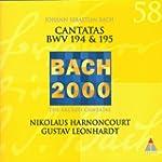 Les Cantates sacr�es BWV 194 & 195 (...