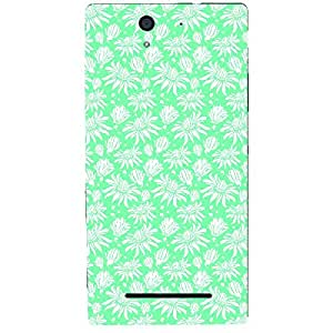 Skin4gadgets FLORAL Pattern 30 Phone Skin for XPERIA C3 DUAL (s55t)
