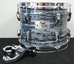 Pearl EXR6/C431 Export 10 x 8 Hanging Tom w/ISS Mount #431 Strata Black- NEW