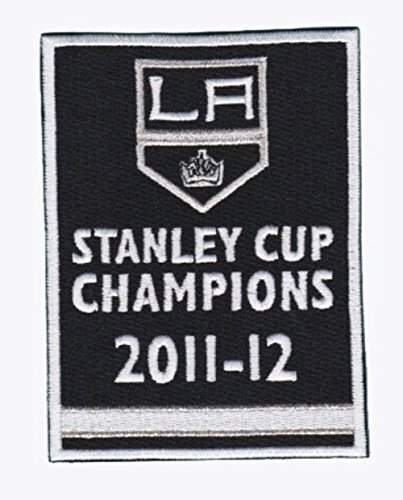 Los Angeles Kings 2012 Stanely Cup Champions Banner Logo NHL Jersey Iron on Patch (2014 Stanley Cup Champions Patch compare prices)