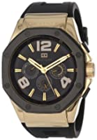 Buy Tommy Hilfiger Mens 1790911 Cool Sport Multi-Eye Black Silicone Strap Watch by Tommy Hilfiger
