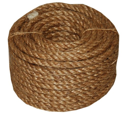 T.W . Evans Cordage 26-011 1/4-Inch by 100-Feet 5 Star Manila Rope (1 Rope compare prices)