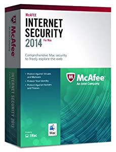 McAfee Internet Security - 1 user (Mac)