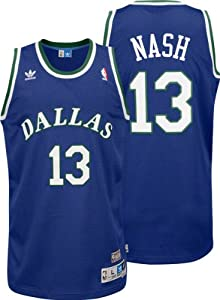 NBA adidas Steve Nash Dallas Mavericks Soul Swingman Throwback Jersey - Royal Blue by adidas