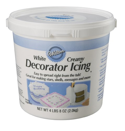 Wilton White Ready To Use Decorator Icing, 4.5lbs