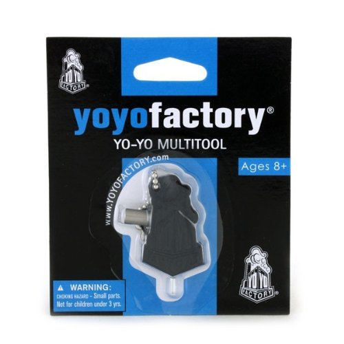 YoYoFactory Black Multi Tool w/ Bearing Remover/Hex Key/String Cutter