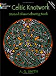 Celtic Knotwork Stained Glass Colouri...