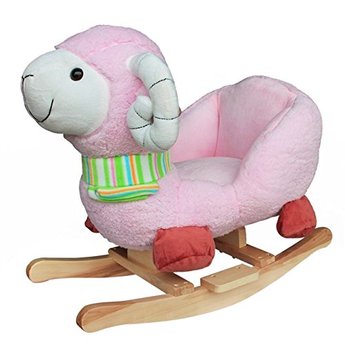 Golden-Tulip-Infant-Toddler-Baby-Kids-Animal-Rocker-Children-toys-animal-rocking-Pink-Sheep