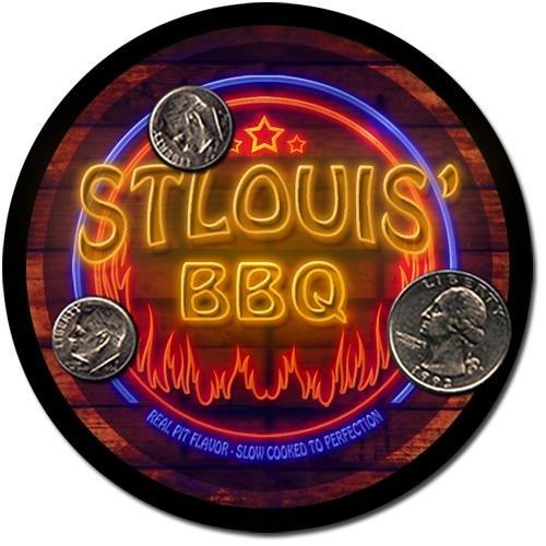 Stlouis' Barbeque Drink Coasters - 4 Pack