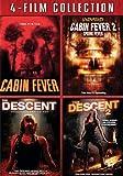 4-Film Collection Cabin Fever/ Cabin Fever 2/ Descent/ Descent 2 [DVD]
