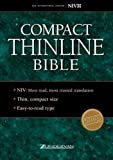 Compact Thinline Bible: New International Version Black Bonded Leather (0310921902) by Zondervan Publishing House (Grand Rapids, Mich.)