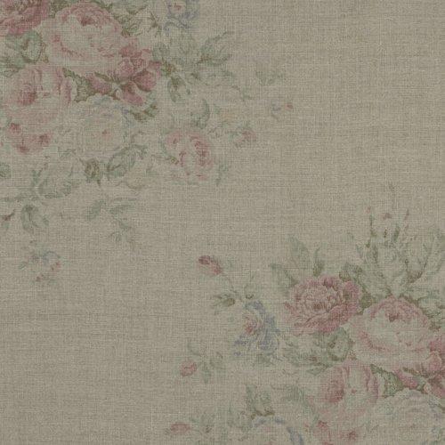 Wainscott Floral Vintage Rose by Ralph Lauren Fabric