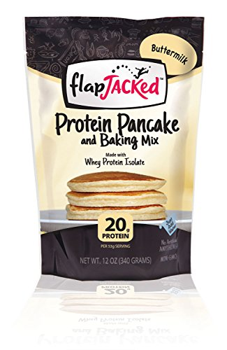 Flapjacked Protein Pancake Mix, Buttermilk, 12 Oz (Protein Bread compare prices)