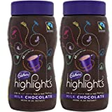 2 x 220g Fairtrade Cadbury Highlights Drinking Chocolate