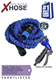 New X HOSE 25ft Patented Expandable Flexible Garden Hose As Seen On TV In Official Retail Box
