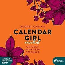 Ersehnt (Calendar Girl 10-12) Hörbuch von Audrey Carlan Gesprochen von: Dagmar Bittner