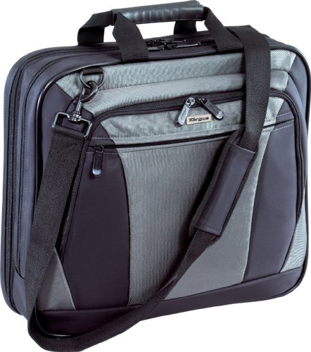 Targus CityLite Top-Loading Case Designed for 16 Inch Laptops TBT050US Black with Grey Accents)