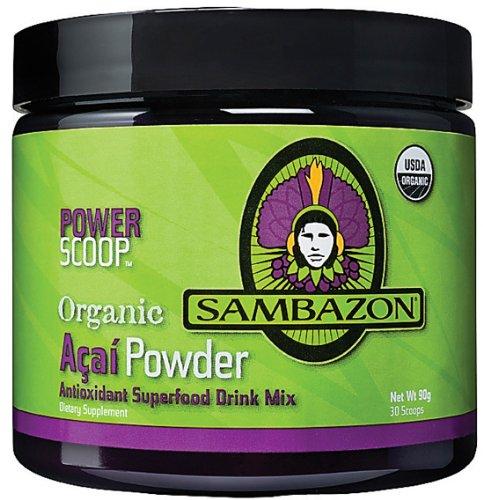 Sambazon Acai, Acai Powder, 90 g powder