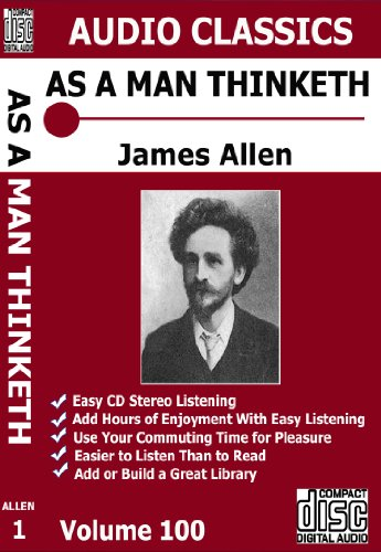 Science of Being Well and As a Man Thinketh Multi Cd Unabridged Audio Set by Wallace D. Wattles James Allen